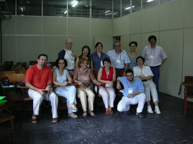 GT de Jornalismo. António Fidalgo, à esquerda na fila de trás.
